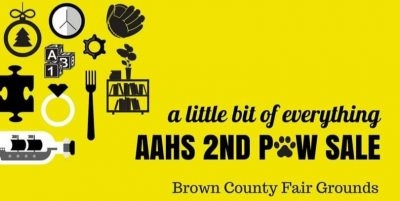 AAHS Fall 2nd Paw Sale