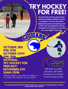 Try Hockey For Free!